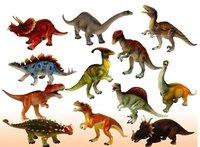 12 pcs/set,15-18cm Creative pvc dragon/dinosaurs set/kids figures toy model gift. free shipping,wholesale bauble