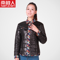 2013 wool cold-proof wadded jacket short design women's outerwear upperwear mother clothing cotton-padded jacket