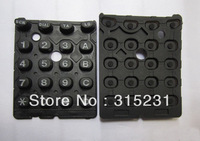 2x New Digital Number Keys Keypad Button For Kenwood TK378 Car Radio Repair