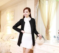 Free shipping 2013 spring new Korean OL cultivating small suit leisure suit jacket female autumn