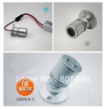 Free shipping  10pcs 1W led wall lamp/led wall spot dc12-24V(China (Mainland))
