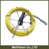 Fiberglass cable with 20meters for pipe inspection camera