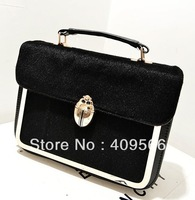 Coccinella horsehair bag map women's messenger bag designer totes shoulder bags handbag for grils high quality hot selling