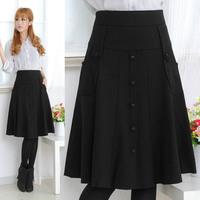 Autumn and winter bust skirt 2013 autumn all-match medium skirt