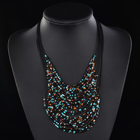 Min Order Is $20(mixed order)!Colorful Beaded Necklace,Promotion Wholesale