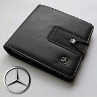 20 Disk CD DVD Case Storage Holder Bags Box Car Square Mercedes- Benz B C E S CLK GLK ML CLS G R SLK SLS SL Class Viano Vario