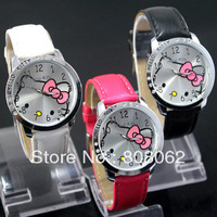 fashionable Watch Hello Kitty with sixx drill children watches stable property  watch vintage free shipping