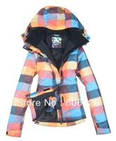 Free Shipping!! 2013 NEWS Gsou SNOW Women 10K Waterproof SKI JKT Snowboard Coat /SKI JACKETS : XS-L
