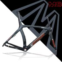 MCipollini RB1000 Carbon raod racing  bike Frame t1000 caron fiber 1k weave ,Size XXS,S,L. M8 painting,Free shipping