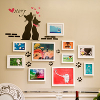 wall sticker photo frame