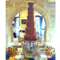 Free Fedex Big Chocolate Fountain For wedding, Pump System