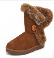 2013 new arrived women winter boots snow boots warm cotton-padded shoes Six colors Size 36-40 Free Shipping