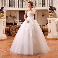 2014 hot wholesale cheaper  tube top Bandage ball gown dress real photo plus size vestidos de novia