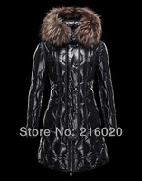 Wholesale Brand Women Down Jacket Real Fur Waterproof Down Coat Outerwear Lady Long Parka Women's Jacket