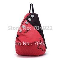 Free Shipping 2013 New Fashion Korean Style Dot Softback Daily Bag H-Q Canvas Backpack School Backpacks  Women