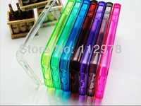 1000pcs/lot TPU Crystal Shell Soft Case Protective Skin Cover for Apple iPhone 5 Clear Silicone Free Shipping Fedex