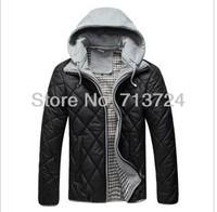 Free shipping Hot! Men's winter warm coat jacket winter padded jacket Slim hot M-XXXL