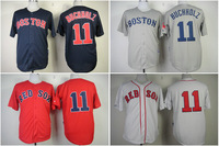 Free Shipping Boston Red Sox Jersey #11 Clay Buchholz American Baseball Jerseys wholesale Mens grey blue white red