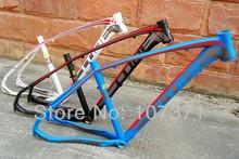 """2014 mais novo CUBE 29 """" * 17"""" / 19 """" bicicleta de montanha de alumínio / liga quadro da bicicleta + headset + canote braçadeira 29er MTB frame 3 cor Navio livre(China (Mainland))"""