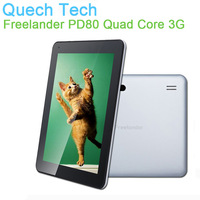 9.7 WCDMA Phone Call Tablet FreeLander PD80 3G Built-in Android 4.2 MTK MT8389 Quad Core 1GB/16GB 0.3MP/5MP BT GPS Free Shipping