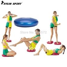 Inflatable massage mat yoga mat balancing pad cushiest water cushion yoga ball pump  Wholesale