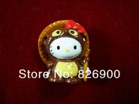 10 pcs Hello Kitty Charm Pendant DIY Accessories Lovely Gifts ALK605