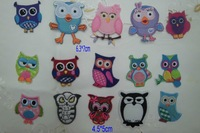 Wholesale -   Owl Eagle Embroidered  iron ON Patch  DIY SEWING knitting  CRAFT