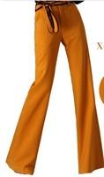 Original 2015 Autumn And Winter Fashion Female Flare Trousers , Wide leg Pants Free Shipping S-M-L-XL-XXL-XXXL