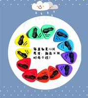Kong yuen set paddles scrub paddles guitar picks 12 color paddles