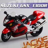 Free shipping 1:12 GSX1300R Motorcycle Alloy Model  Toy 367# Doll Falcon Blue or Red