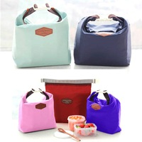 1pcs/lot Free Shipping Waterproof Portable Thermal Insulated Cooler Picnic Lunch Tote Bag Pouch Box