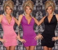 3 colors of Foreign Trade Foreign Trade princess dress sexy dress hip club clothing