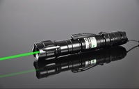 Promotion! 10000MW Green Laser Pointer Laser Pen  Flashlight style4000Mah 18650 Battery + charger Free shipping