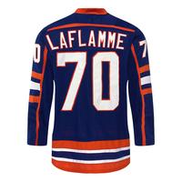 Custom Goon #70 Laflamme  Movie Hockey Jersey  Vintage Hockey Jersey  Any Name And Number Stitch Sewn sweatshirts