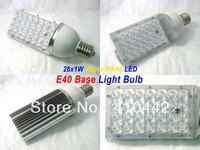 Dropship E40 28W LED Street Light Epistar Road Bulb Lamp garden lamp 85-256V with 28leds warranty 3 years CE & RoHS