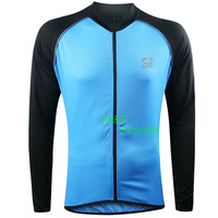 Men's Cycling Bicycle Clothing Long sleeve Outdoor Windproof Jersey ABC628