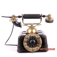 Vintage telephone model gift tv cabinet decoration furnishings home