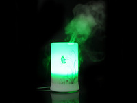 100ml Ultrasonic aroma diffuser/humidifier/aromatherapy with 8 colors