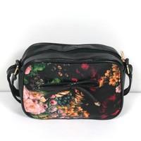 New Arrival fashion bags 2014 women's handbag small fashion fresh style bag oil painting print bag casual small bags