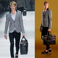 Free delivery of 2013 new styles Fashion and the wind Plover metrosexual man suit jacket