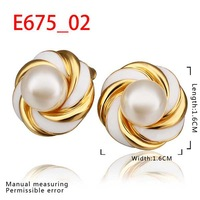 New Arrival 18K Gold Plated Earring,Fashion Jewelry Earring,18K Rhinestone Austrian Crystal Earrings Women Jewelry SMTPE675
