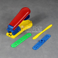 Infant boy baby modeling clay color clay educational toys tools mould noodle pressing machine set