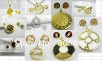 mixed hot sell stainless steel jewelry set free shipping by DHL  bgl090-10001