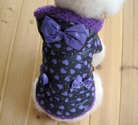 Dog thermal wadded jacket large pet clothes dog teddy vip bichon winter thickening dog clothes
