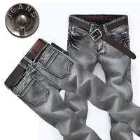 Straight Style Free Shipping retail(1piece) fashion 2013 high quality Nostalgic retro Slim cotton  brand men's jeans