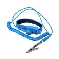 20pcs/lot free shipping blue ESD wrist strap band anti static discharge wrist band