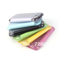 Flip Leather Case transparent Back Cover For SAM galaxy S3 9300