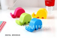Ship/EMS,candy color elephant mobile phone holder for Pad mobile display stand series as novelty cell phone accessories.