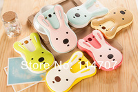 New Arrival cute Cartoon 3D Bunny case le sucre 3D rabbit Silicon Case Cover For samsung i9300 Free Shipping