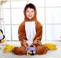 Kids squirrel onesies Pyjamas Cartoon Animal Cosplay Costume Pajamas Kids Onesies Sleepwear Halloween